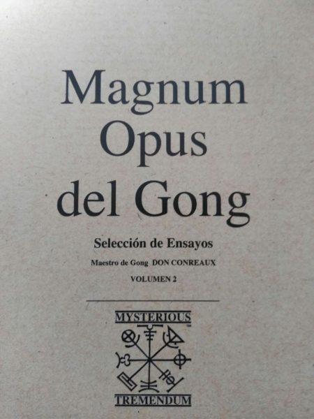 libro magnum opus gong don conreaux